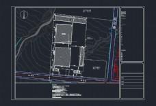 铸钢厂地形图