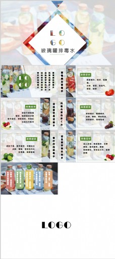 美食饮品PPT设计模板