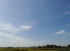 蓝天白云 天空 天空背景 蓝天