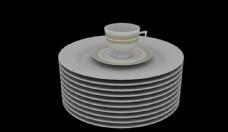盘子3d模型