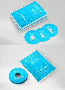 CD光盘盒包装展示