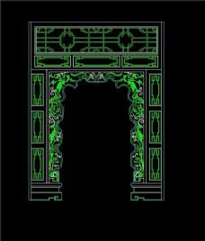 中式门型建筑