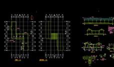 亭子廊子建筑结构详图CAD