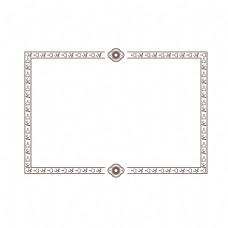中式古典花纹边框