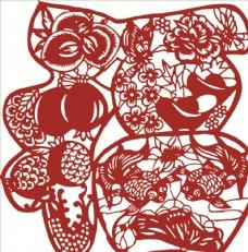 福字图案 窗花