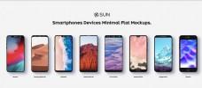 8个智能手机样机模板