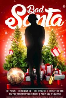 歐美圣誕節海報82