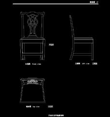 欧式家具施工图家装CAD图纸