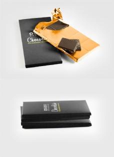 巧克力包装设计展示