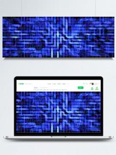 科技感蓝色现代创意banner背景图