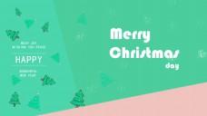 圣诞快乐节日海报