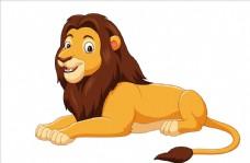 卡通可爱狮子