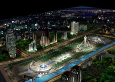 城市公园效果图