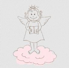 卡通小天使