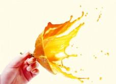 鲜橙海报效果图psd格式