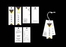 男装吊牌商标设计