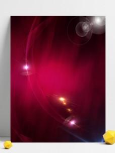 红色创意纹理渐变科技光效背景