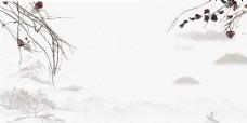 精美中国风水墨海报背景