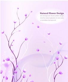粉色花朵英文移门素材