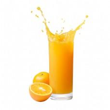 橙汁免扣素材png
