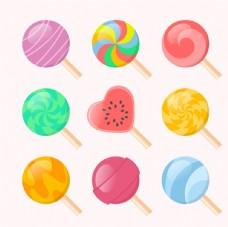 多彩棒棒糖