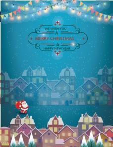 merrychristmas圣诞节海报