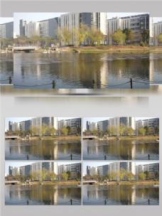 大城市自然风光视频音效