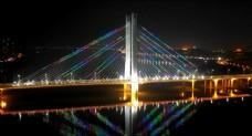 惠州城市风光延时航拍合生大桥
