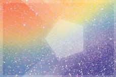 彩色手绘水彩水墨海报背景