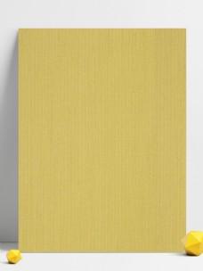 黄色棉麻质感背景