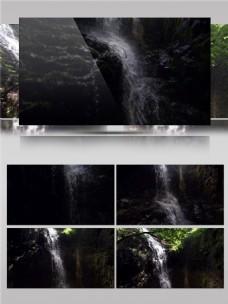 顺流而下的瀑布视频音效