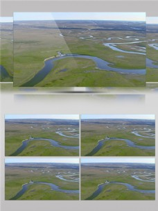 草原上河流视频音效