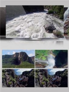 生生不息瀑布河流视频音效