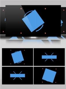 形状图层动画视频素材