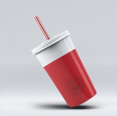 饮料杯效果图样机