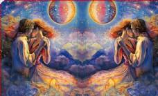 唯美油画神话 彩绘图案 手机壳