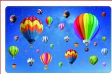 热气球主题 彩绘图案 手机壳