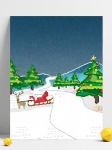 创意圣诞背景像素化设计