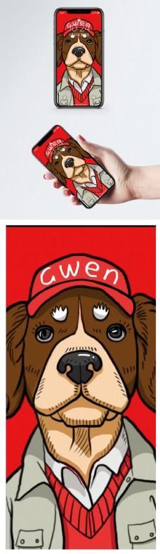 卡通狗手机壁纸
