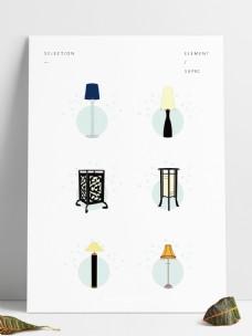 家居用品灯具元素可商用