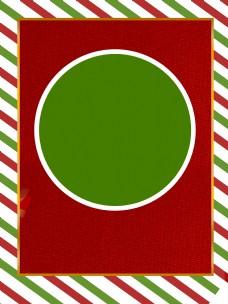 红绿条纹圣诞主题背景设计