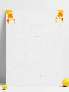 秋季养生枫叶背景