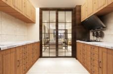 新中式风格厨房装饰装修效果图