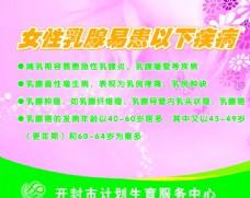 女性乳腺易患以下疾病