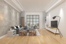 现代简约客厅装饰装修效果图