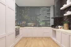 现代简约厨房装饰装修效果图