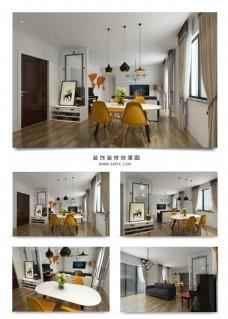 现代风家装客厅谁效果图