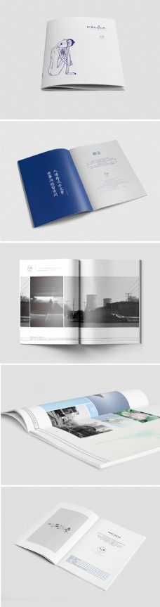 DM单介绍画册设计书本设计书籍设计