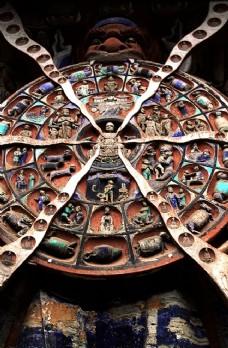 中国壁画传统佛教艺术