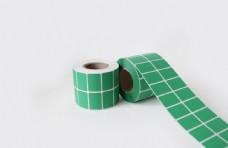 绿色铜版纸